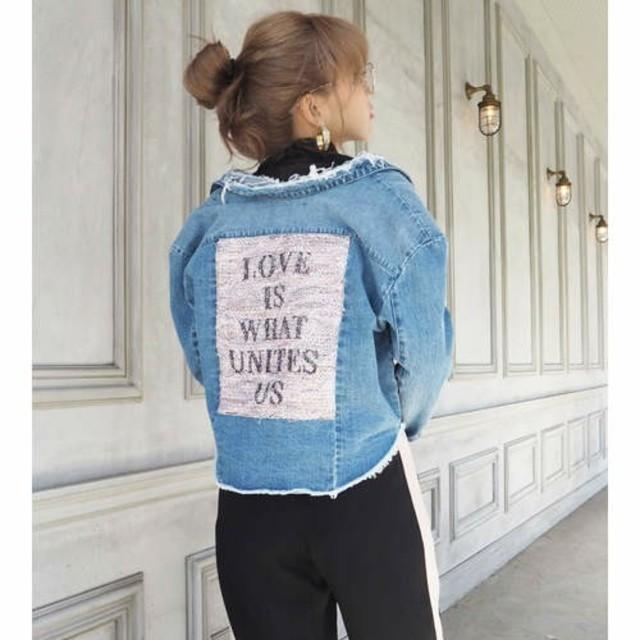eimy istoire(エイミーイストワール)のマイレ様専用ページ24日迄お取り置き!・eimy★デニムジャケット レディースのジャケット/アウター(Gジャン/デニムジャケット)の商品写真