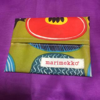 マリメッコ(marimekko)のポケットティッシュカバー ラミネート(その他)