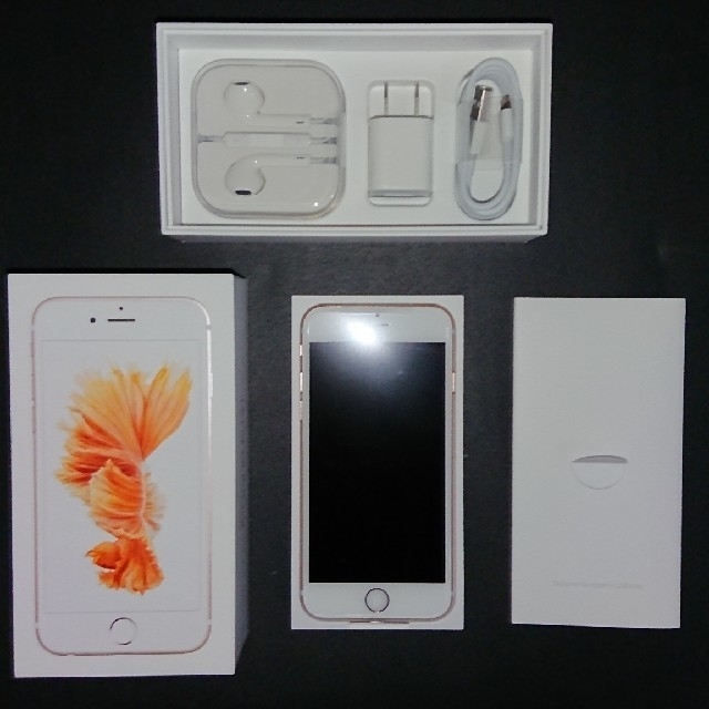 iPhone(アイフォーン)のiPhone 6s Rose Gold 32 GB 新品 SIMフリー スマホ/家電/カメラのスマートフォン/携帯電話(スマートフォン本体)の商品写真