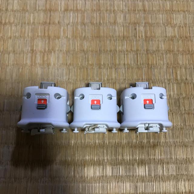 Wii(ウィー)のwiiモーションプラス 3個 エンタメ/ホビーのテレビゲーム(家庭用ゲーム本体)の商品写真