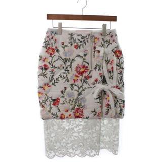 カンナビス レディース(CANNABIS LADIES)の極美品 siiilon スカート(ひざ丈スカート)