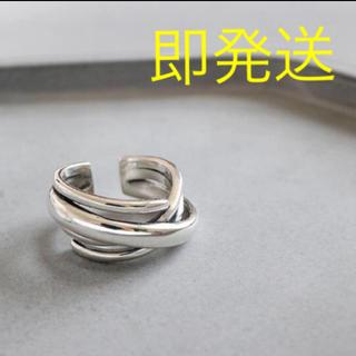 トゥデイフル(TODAYFUL)のシルバーリング silver925 多重リング silver ring(リング(指輪))