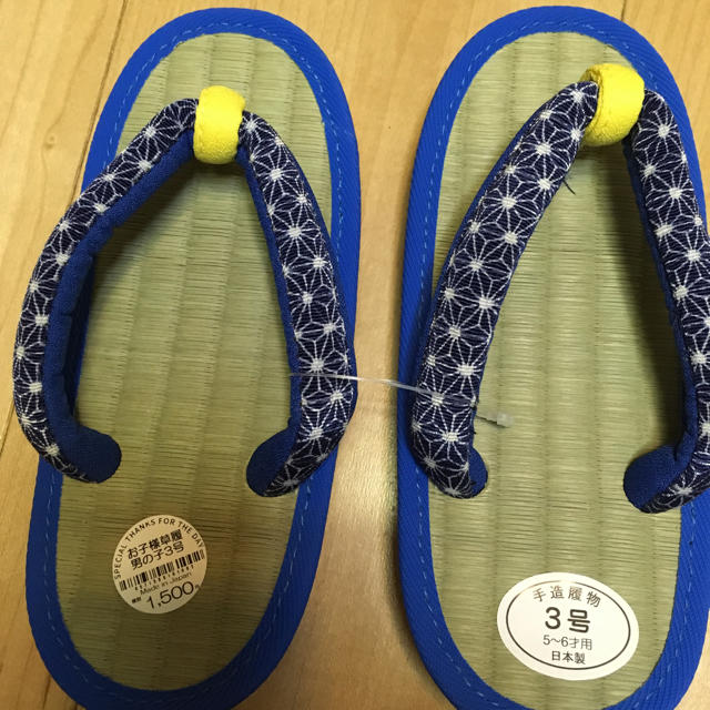 子供草履 17.5センチ キッズ/ベビー/マタニティのキッズ靴/シューズ (15cm~)(下駄/草履)の商品写真