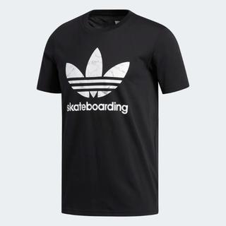 アディダス(adidas)の新品 アディダス ロゴプリント半袖Tシャツ トレフォイル XL(Tシャツ/カットソー(半袖/袖なし))