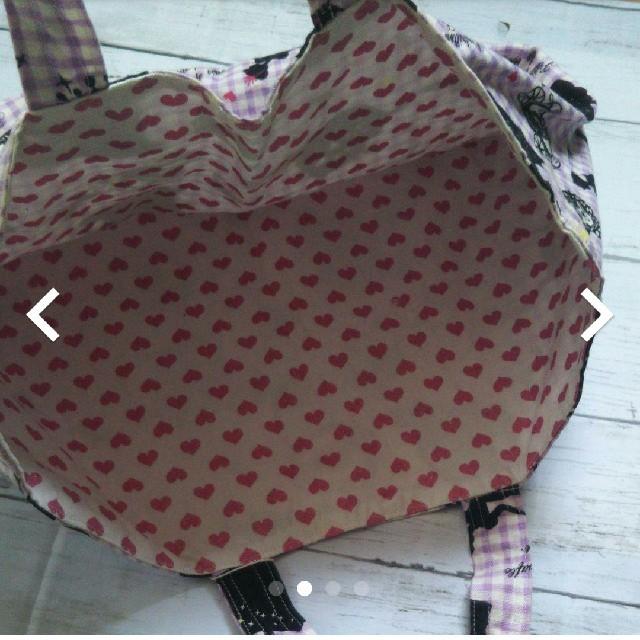 ハンドメイド シンデレラ レッスンバッグ キッズ/ベビー/マタニティのこども用バッグ(レッスンバッグ)の商品写真