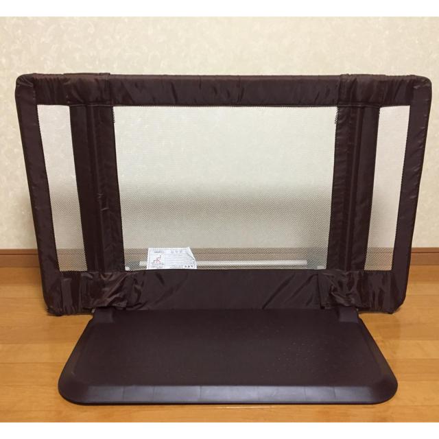 日本育児(ニホンイクジ)のおくだけとおせんぼS キッズ/ベビー/マタニティの寝具/家具(ベビーフェンス/ゲート)の商品写真