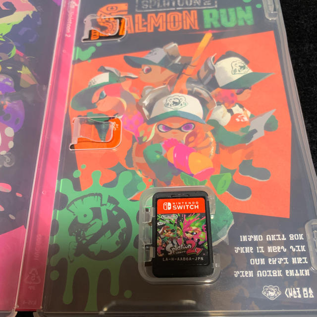 Nintendo Switch(ニンテンドースイッチ)のスプラトゥーン エンタメ/ホビーのテレビゲーム(携帯用ゲームソフト)の商品写真