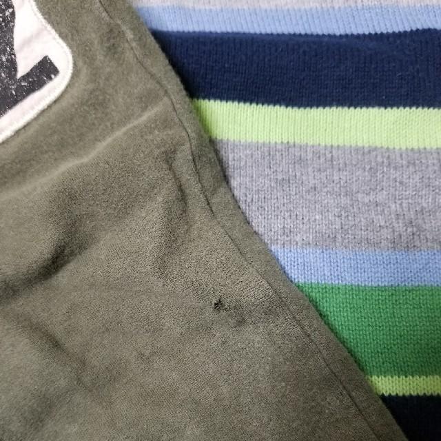 H&M(エイチアンドエム)の90 H&M ニット パンツセット キッズ/ベビー/マタニティのキッズ服 男の子用(90cm~)(ニット)の商品写真