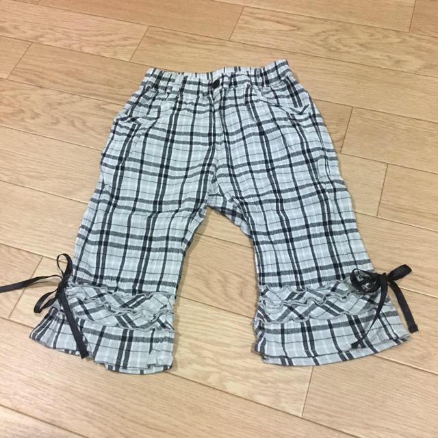ズボン 90 キッズ/ベビー/マタニティのキッズ服 女の子用(90cm~)(パンツ/スパッツ)の商品写真