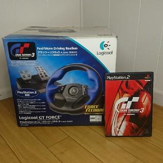 プレイステーション2(PlayStation2)のPS2 ステアリングコントローラー(その他)