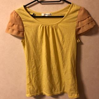 クランプリュス(KLEIN PLUS)のクランプリュス シフォン スリーブ Tシャツ(Tシャツ(半袖/袖なし))