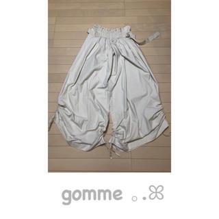 ゴム(gomme)のgomme 。.ꕤ アラジンパンツ風 ワイドパンツ(カジュアルパンツ)