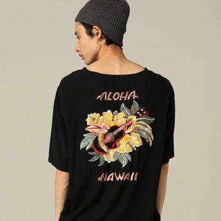 トウヨウエンタープライズ(東洋エンタープライズ)の東洋テーラー レーヨン シャツ Lサイズ アロハ刺繍(シャツ)