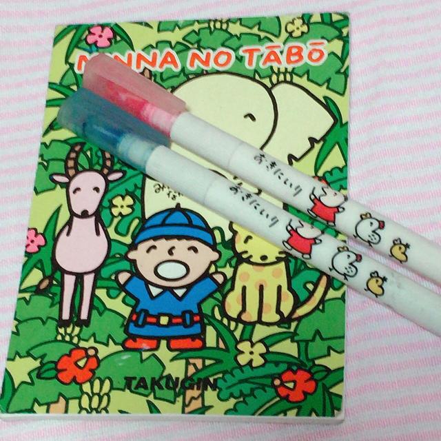 1988 1994 みんなのたぁ坊 ペン メモ エンタメ/ホビーのおもちゃ/ぬいぐるみ(キャラクターグッズ)の商品写真