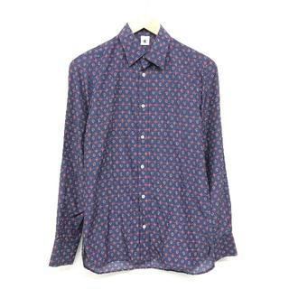アダムキメル(Adam Kimmel)のADAM KIMMEL アダム キメル 長袖 シャツ 紺 XS(シャツ)