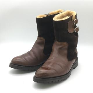 バーカーブラック(Barker Black)のbarker black バーカー ブラック ジョッカーブーツ 茶色 25cm(ブーツ)
