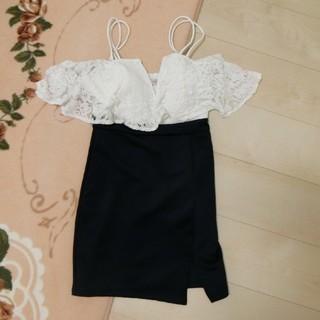 デイジーストア(dazzy store)の新品キャバ嬢ドレス♡レース(ミニドレス)