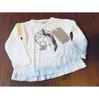 ザラ(ZARA)の【新品タグ付き】ザラベビー  長袖Tシャツ(Tシャツ)