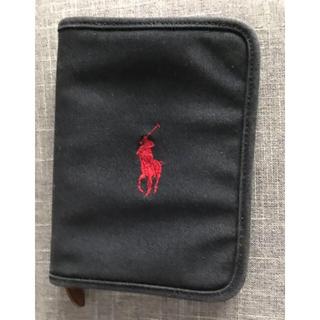 ラルフローレン(Ralph Lauren)のラルフローレン 紺x赤 母子手帳ケース(母子手帳ケース)
