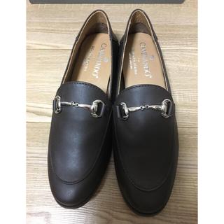ドゥーズィエムクラス(DEUXIEME CLASSE)の美品❗️ カミナンド ビットローファー ビューティアンドユース別注 モカ 36(ローファー/革靴)
