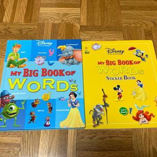 Disney - 新品同様、未使用 DWE  MY BIG BOOK ステッカーブック