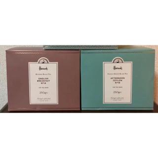 ハロッズ(Harrods)のHarrods 紅茶 100teabag 250g 1箱 お徳用 日本未入荷(茶)