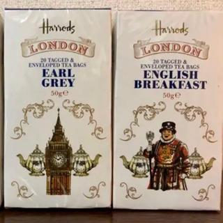 ハロッズ(Harrods)のHarrods お紅茶 25 teabag 1箱 日本未入荷(茶)
