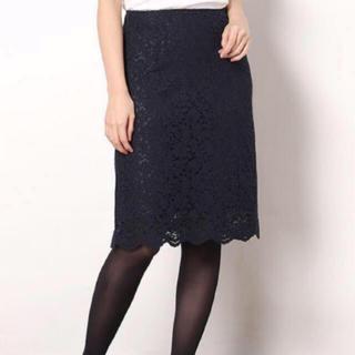 アールユー(RU)の今期新作完売商品 アールユー レースタイトスカート (ひざ丈スカート)