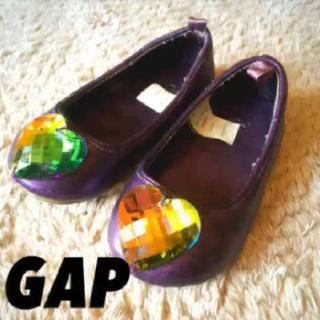 ギャップ(GAP)の12.5cm◼︎送料無料 GAP ビジュー付きフラットシューズ◾︎サンダル(フラットシューズ)