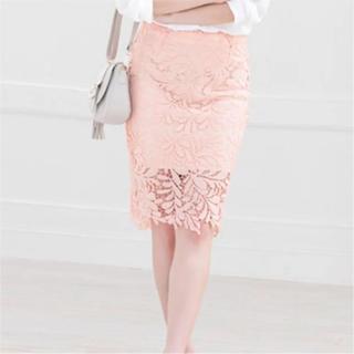 カラー(Color)のColor レースペンシルスカート(ひざ丈スカート)