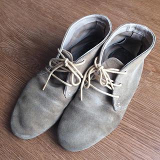 カンペール(CAMPER)のカンペール スエードシューズ(ローファー/革靴)