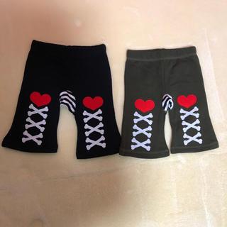 スキップランド(Skip Land)のベビーパンツ 2着セット色違い♡(パンツ)