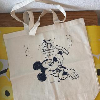ディズニー(Disney)の【限定非売品】ディズニーストア25周年記念エコバック(ショップ袋)
