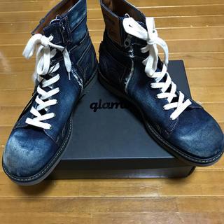 グラム(glamb)のグラム デニムブーツ サイズ3 定価35640円 新品 完売品(ブーツ)