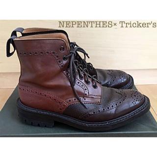 トリッカーズ(Trickers)のネペンテス別注トリッカーズ ブーツ UK8 26.5cm(ブーツ)
