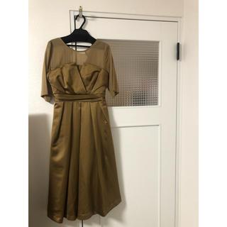 ガール(GIRL)のドレス(ひざ丈ワンピース)