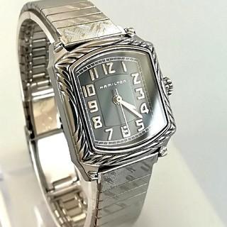 ハミルトン(Hamilton)の綺麗 ハミルトン 時計 レディース メンズ 腕時計 オメガも ベルト2本 美品(腕時計)