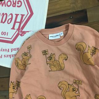 ボボチョース(bobo chose)の18AW MINIRODINI ミニロディーニ スウェット 116/122(Tシャツ/カットソー)