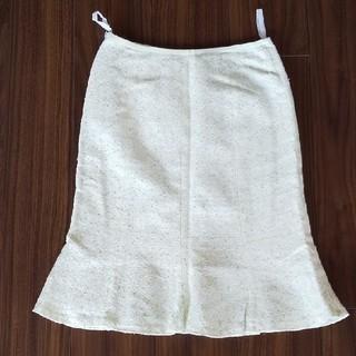 ヴァンドゥーオクトーブル(22 OCTOBRE)の22 OCTBRE  ツイード スカート(ひざ丈スカート)