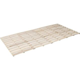 アウトレット 折りたたみ式 桐すのこベット (セミシングルベッド)