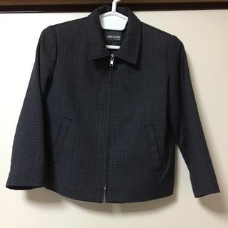 コシノジュンコ(JUNKO KOSHINO)の美品 110 ジャケット JUNKO KOSHINO チャコールグレー 冠婚葬祭(ジャケット/上着)