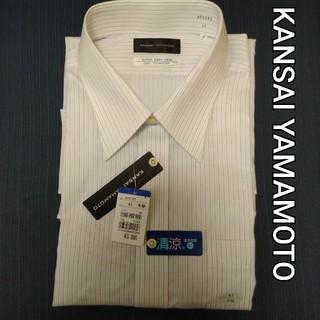 カンサイヤマモト(Kansai Yamamoto)の新品未使用 KANSAI YAMAMOTO ビジネス用 半袖シャツ 43(シャツ)