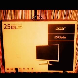 エイサー(Acer)のacer 24.5インチ ゲーミング モニター KG251 Qbmiix(ディスプレイ)