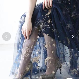 カワイイ(cawaii)の【新品未使用】星空 スカート チュール 夜空 (その他)
