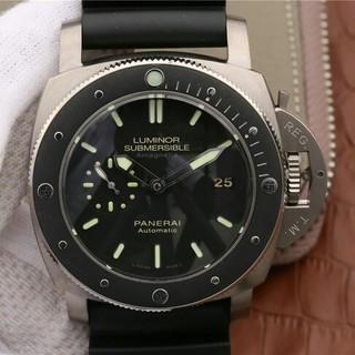 オフィチーネパネライ(OFFICINE PANERAI)のパネライ ルミノール1950 サブマーシブル アマグネティック3デイズ チタニオ(腕時計(アナログ))