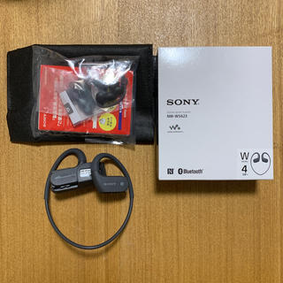 ウォークマン(WALKMAN)のSONY ウォークマン NW-WS623 ヘッドホン一体型 Bluetooth(ポータブルプレーヤー)