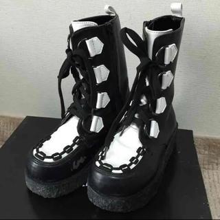 チャビーギャング(CHUBBYGANG)のCHUBBYGANG ブーツ 20㎝ used(ブーツ)