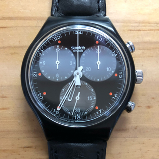 スウォッチ(swatch)のswatch 1990 クロノ初期  wall street オールドスウォッチ(腕時計(アナログ))