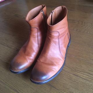 パドローネ(PADRONE)のパドローネ PADRONE サイドジップブーツ 美品(ブーツ)