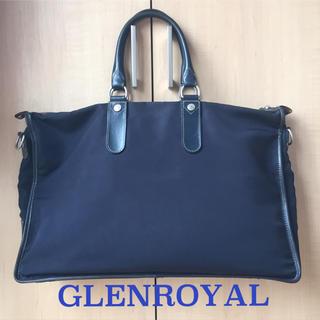 グレンロイヤル(GLENROYAL)のグレンロイヤル / GLENROYAL 2way ブリーフケース ネイビーカラー(ビジネスバッグ)